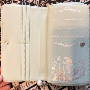 Disney Bags - The Little Mermaid Wallet with Zipper